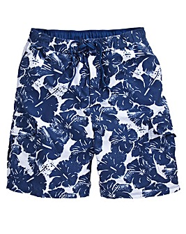 Weird Fish Floral Swim Shorts
