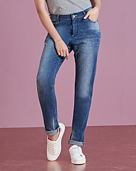 Sadie Authentic Slim Leg Jeans Long