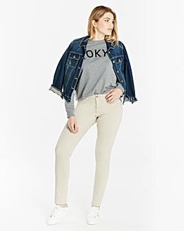 Sadie Authentic Slim Leg Jeans Long