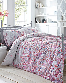 Lulu Reversible Print Duvet Cover Set
