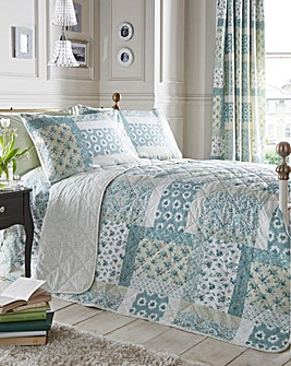 Rosina Reversible Quilted Throwover