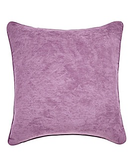 Faux Suede Filled Cushion