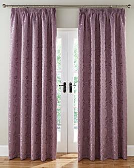 Knightsbridge Jacquard Lined Curtains