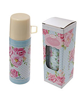 Stainless Steel Chintz 350ml Flask