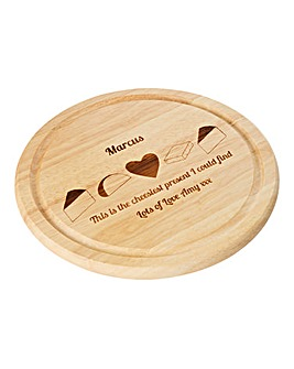 Personalised Cheesiest Cheese Board