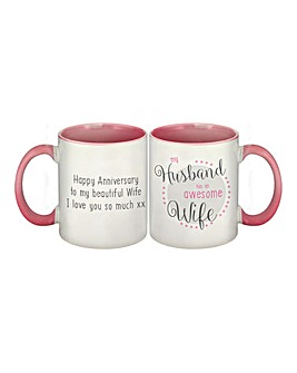 My Husband Has An Awesome Wife Mug