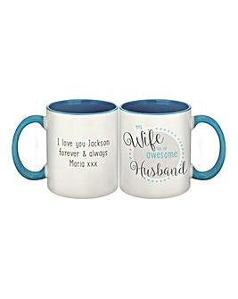 My Wife Has An Awesome Husband Mug
