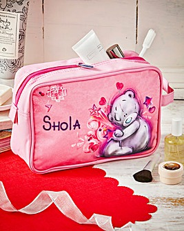 Personalised Me To You Washbag