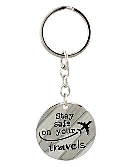 Safe Travels Keyring