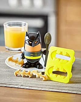 Batman Egg Cup & Toast Stamp