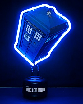 Doctor Who Neon Lights