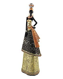 Juliana Standing Masai Lady