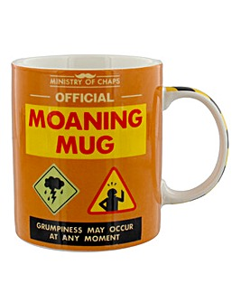 Ministry of Chaps Moaning Mug