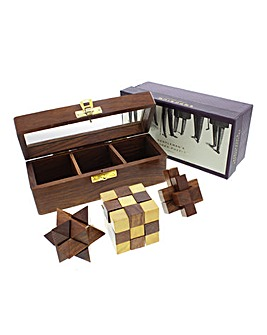 Emporium Trio of Wooden Puzzles