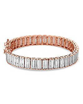 Jon Richard Cubic Zirconia Row Bracelet