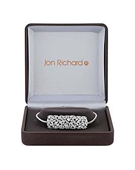 Jon Richard Silver Shard Bracelet