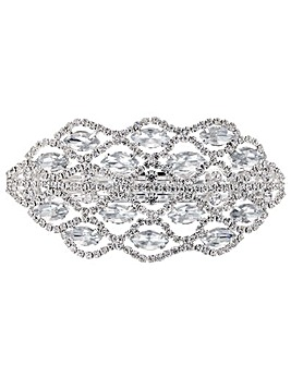 Mood Crystal Cluster Hair Clip