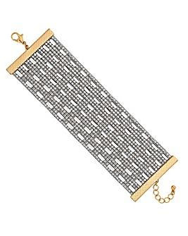 Mood Crystal Mosaic Bracelet