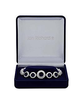 Jon Richard Graduated Circle Bracelet