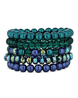 Mood Tonal Pearl Bracelet Set