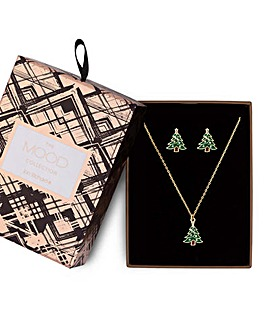 Mood Christmas Tree Jewellery Set