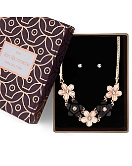 Jon Richard Flower Jewellery Set