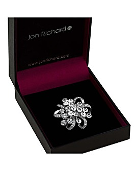 Jon Richard Crystal Cluster Brooch