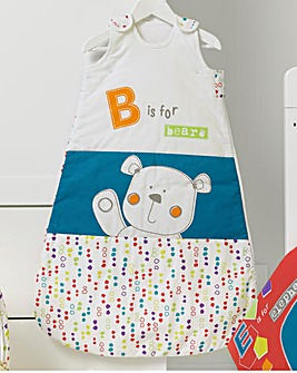 Obaby B is for Bear Safari Sleeping Bag