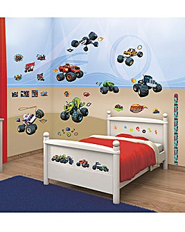 Blaze and Monster Machines Room Decor