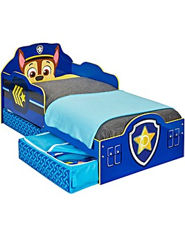 Paw Patrol Chase Toddler Bed and Storage