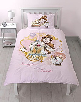Beauty & The Beast Panel Duvet