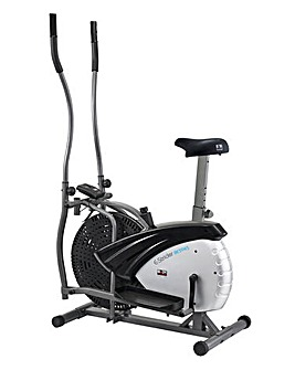 Dual Fan Elliptical Strider & Bike