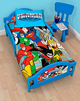 DC Superfriends Buddies Toddler Bed