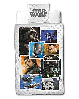 Star Wars Rouge 1 Panel Duvet