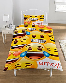 Emoji Personalised Panel Duvet Cover Set