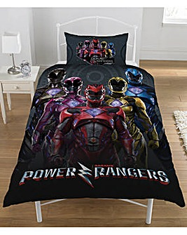 Power Rangers Panel Duvet Cover Set