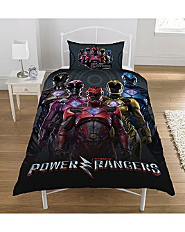 Power Rangers Personalised Duvet Cover