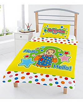 Mr Tumble Junior Duvet Cover Set