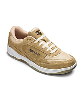Gola Lace Suede Trainers Standard