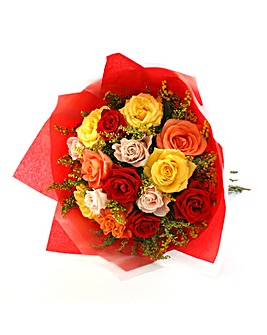 Love Mixed Rose Bouquet