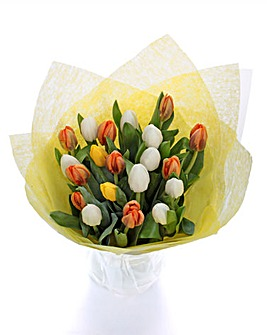 Easter Tulips 20 Stems Bouquet