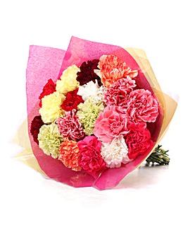 18 Stem Carnation Bouquet