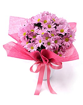 Pink Chrysanthemum Arrangement
