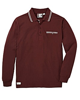 Fenchurch Shaftsfbury LS Polo Long