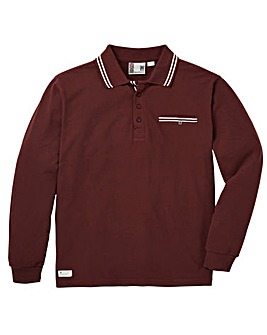 Fenchurch Shaftsbury LS Polo Regular