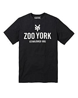 Zoo York Templeton Black T-Shirt Long