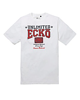 Ecko Defcon White T-Shirt Long