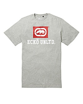 Ecko Classic Grey T-Shirt Long