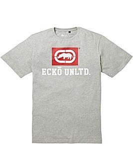 Ecko Classic Grey T-Shirt Long