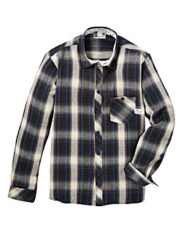 Fenchurch Sheck Flannel Shirt Long